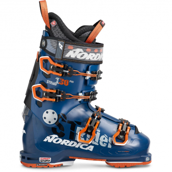 Nordica Strider Pro 130 Dyn  Ski Boots Blue / Orange / Black Men