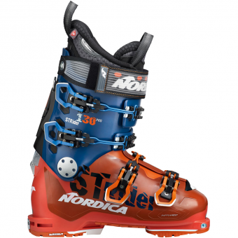 Nordica Strider Pro 130 DYN  Skischuh Orange / Blue Herren