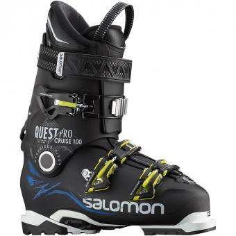 Salomon Quest Pro Cruise 100 Skischuh Black Blue Herren