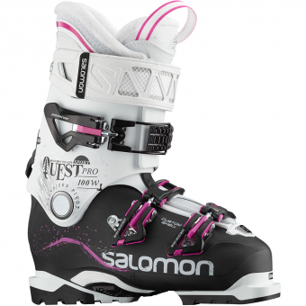 Salomon Quest Pro CS Sport W  Skischuh Black / White Damen