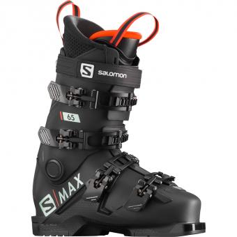Salomon S/Max 65  Skischuh Black / Red Kinder