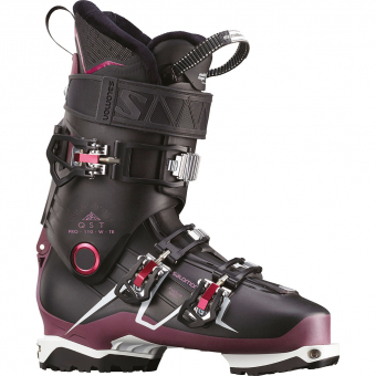 Salomon QST Pro 110 TR W  Tourenskischuh Black Damen
