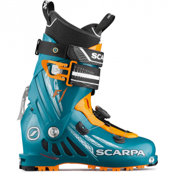 Scarpa F1   Tourenskischuh Petrol Blue/Orange  Herren
