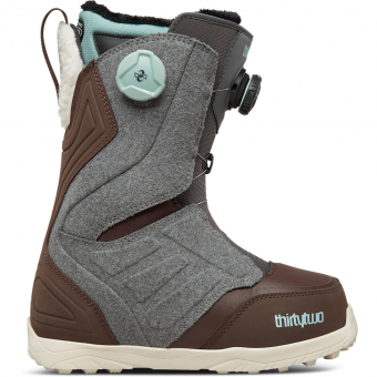 ThirtyTwo Lashed Double Boa   Snowboardschuh Grey-Brown Damen