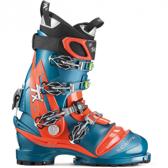 Scarpa TX Pro  Telemark Boots Lyons Blue/Red Orange Men