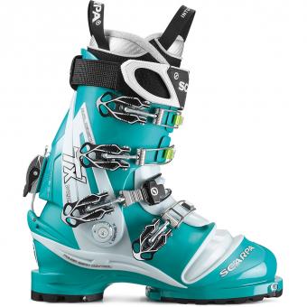 Scarpa TX Pro   Telemark Boots Emerald/Ice Blue Women