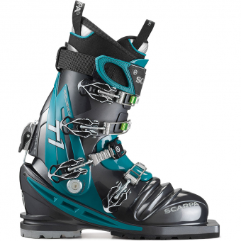 Scarpa T1 Thermo  Telemark Boots Anthracite / Teal