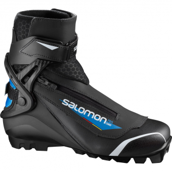 Salomon Pro Pilot SNS  Classic/Skating Kombi-Schuh Black / Blue Herren