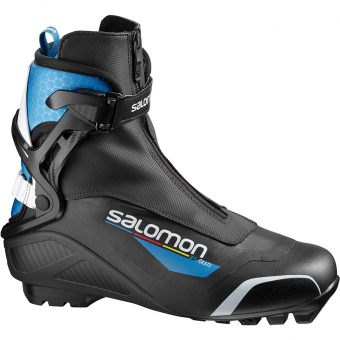 Salomon RS SNS Pilot  Skating-Boot Black / Blue Men