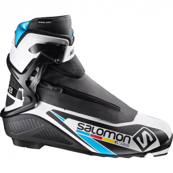 Salomon Prolink / NNN RS Carbon   Skating-Schuh Black / White / Blue Herren