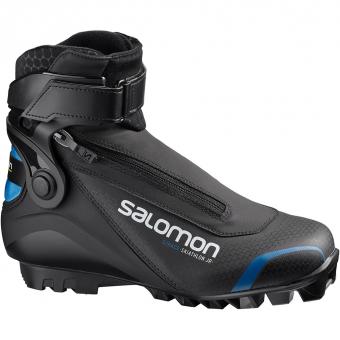 Salomon S/Race Skiathlon Jr SNS  Classic/Skating Shoe Black Kids