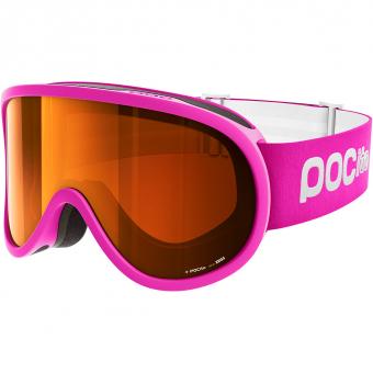 POC Pocito Retina  Ski-/Snowboardbrille Flurescent Pink Kinder