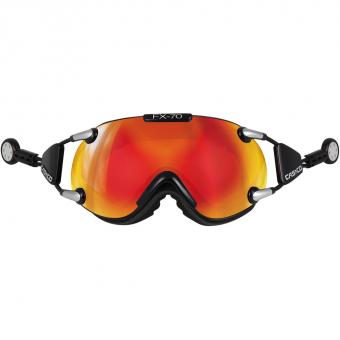 Casco FX 70 Carbonic   Ski-/Snowboardbrille Schwarz / Orange