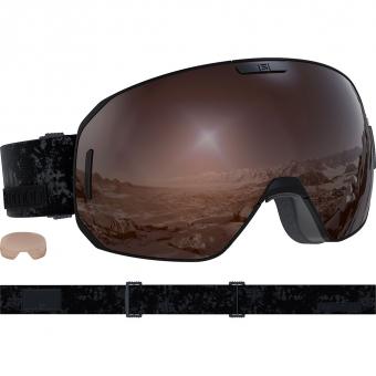 Salomon S/Max  Ski-/Snowboardbrille Access Black / Solar Mirror