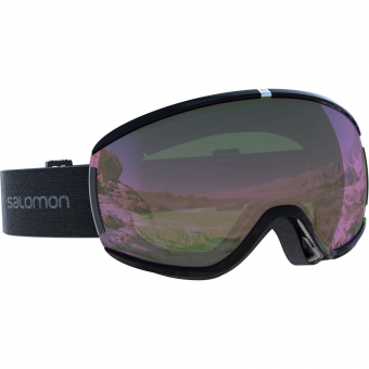 Salomon Ivy  Goggle Black Universal Ruby Women