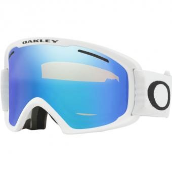 Oakley O Frame 2.0 Pro XL  Ski-/Snowboardbrille White / Violet Iridium & Persimmon
