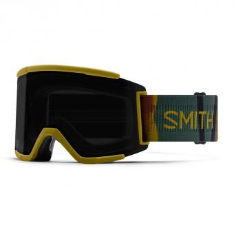 Smith Squad XL  Ski-/Snowboardbrille Spray Camo / Sun Black Mirror