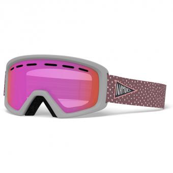 Giro Rev  Ski-/Snowboardbrille Namuk Pink 20 Kinder