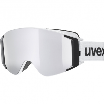Uvex G.GL 3000 Top  Ski-/Snowboardbrille White / Mirror Silver Polavision®
