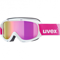 Uvex Slider FM  Ski-/Snowboardbrille White / Mirror Pink