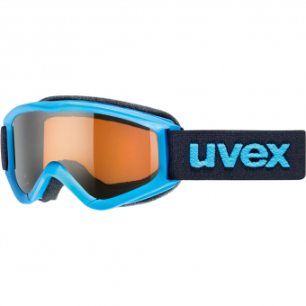 Uvex Speedy Pro  Ski-/Snowboardbrille Blue / Lasergold Kinder