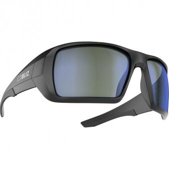 Bliz Summit   Sunglasses Matte Black ULS Brown Silver