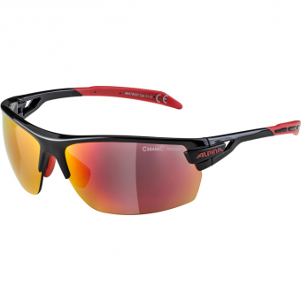 Alpina Tri-Scray  Sonnenbrille Black / Red