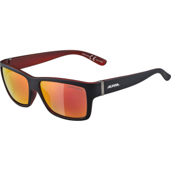 Alpina Kacey  Sonnenbrille Black Mat / Red Ceramic Red