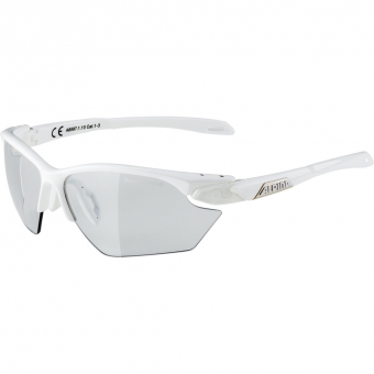 Alpina Twist Five HR S VL+ Sunglasses White Varioflex