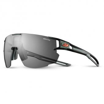 Julbo Aerospeed Reactiv Performance 0/3 CLear  Sonnenbrille Schwarz / Grau