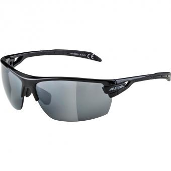 TIEFSCHNEETAGE NEUWARE  Alpina Tri-Scray  Sonnenbrille Black/ Cyan