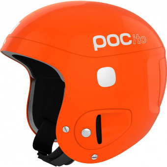 POC Pocito Skull  Helm Fluorescent Orange Kinder