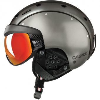 Casco SP-6 Visier  Helm Dunkelsilber
