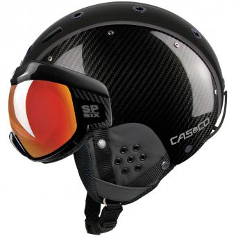 Casco SP-6 Visier LTD  Helm Carbon Schwarz