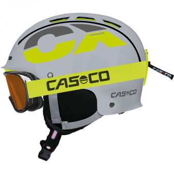 Casco CX-3 Junior  Helm Grau / Neon Kinder