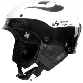 Sweet Protection Trooper II SL Mips Te  Helm Gloss White / Black