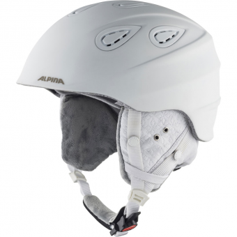 Alpina Grap 2.0 LE  Helm White Diamonds Matt