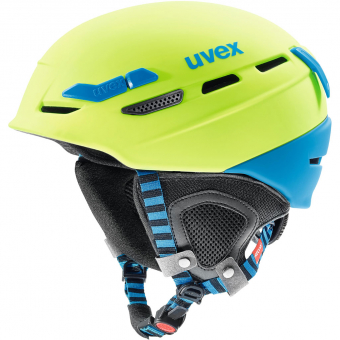Uvex P.8000 Tour  Helm Lime-Blue Mat