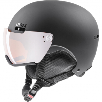 Uvex Hlmt 500  Helm Black Mat
