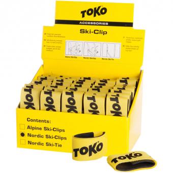 Toko Nordic  Ski Clip Gelb