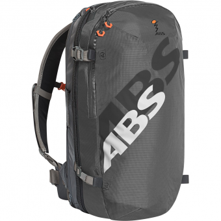 ABS S.Light Base Unit (ohne Kartusche) + S.Light 15 Zip-On  Lawinenrucksack Rock Grey