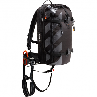 ABS s.Cape Base Unit (without Cartridge) + s.Cape 10-14 Zip On  Avalanche Backpack Storm Black