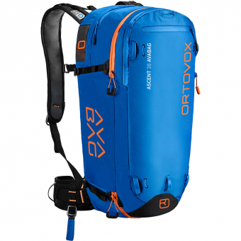 Ortovox Ascent 30 Avabag  Avalanche Backpack (without Cartridge) Safety Blue