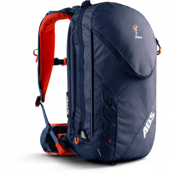 TIEFSCHNEETAGE TESTED ITEM  ABS P.Ride Base Unit + Zip-On 18L  Avalanche Backpack Deep Blue