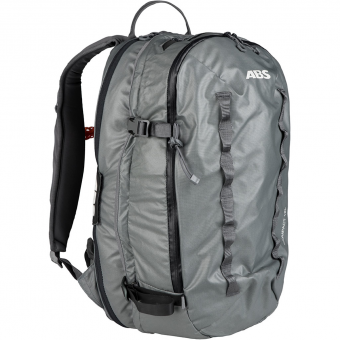 TIEFSCHNEETAGE TESTED ITEM  ABS P.Ride Base Unit Compact + Zip-On 18L  Avalanche Backpack (without Cartridge) Mountain Grey