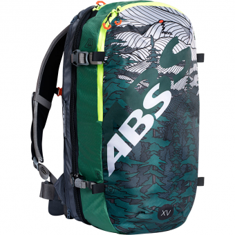 ABS S-Light Compact 30l Xavier de Le Rue Limited Edition  Zip On Green