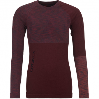 Ortovox 230 Competition  Longsleeve Dark Wine Red Women