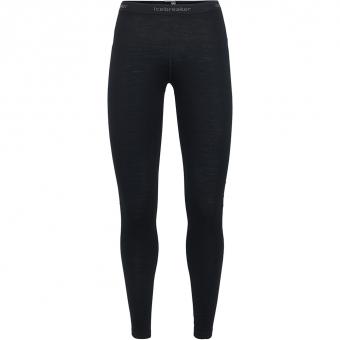Icebreaker Oasis  Baselayer Pants Black Women