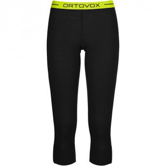 Ortovox 105 Ultra 3/4  Baselayer Pants Black Raven Women
