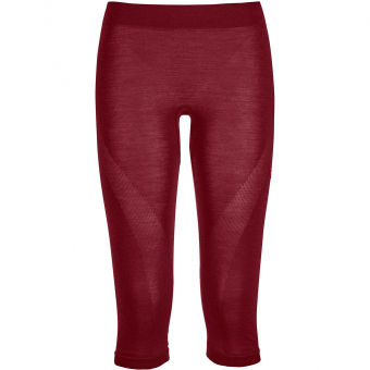 TIEFSCHNEETAGE NEW ITEM  Ortovox 120 Comp Light Short  Baselayer Pants Dark Blood Women